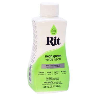 Rit Liquid Fabric Dye Neon Green 236ml