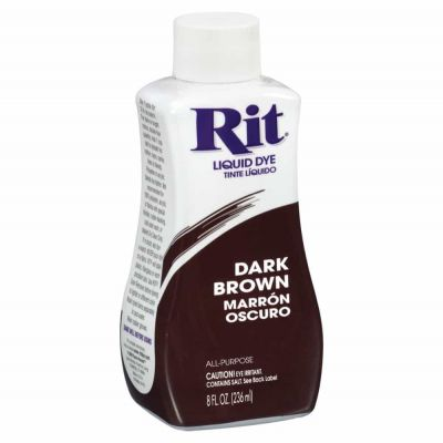 Rit Liquid Fabric Dye Dark Brown 236ml