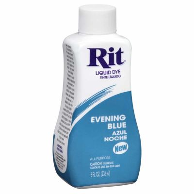 Rit Liquid Fabric Dye Evening Blue 236ml