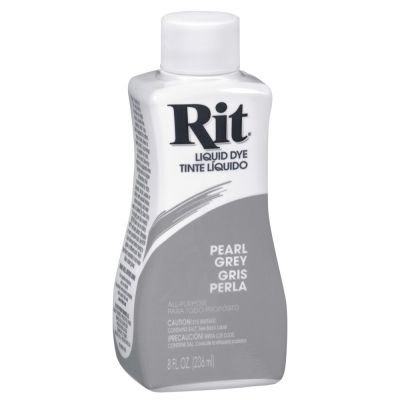 Rit Liquid Fabric Dye Pearl Grey 236ml