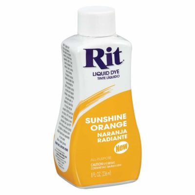 Rit Liquid Fabric Dye Sunshine Orange 236ml