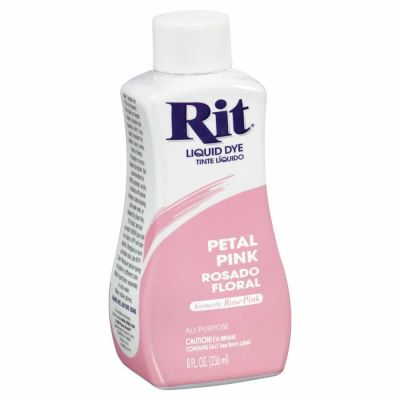 Rit Liquid Fabric Dye Petal Pink 236ml