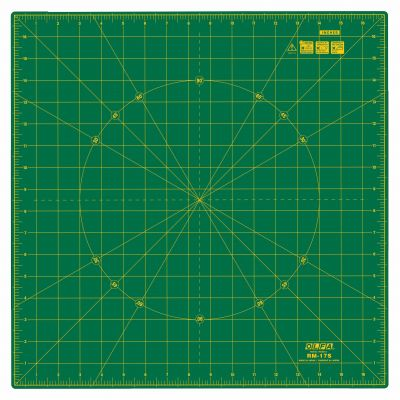 Olfa Self Healing Rotating Cutting Mat 17x17in