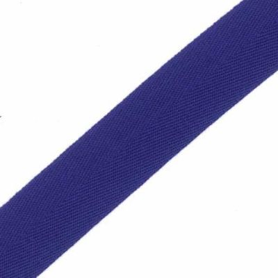 38mm Acrylic Herringbone Webbing Royal Blue