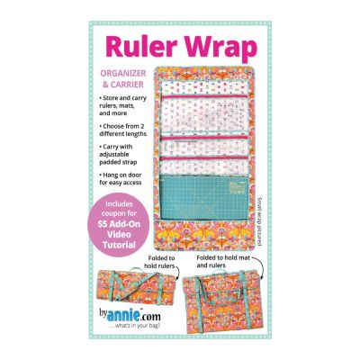 ByAnnie Sewing Pattern -     Ruler Wrap Bag Pattern