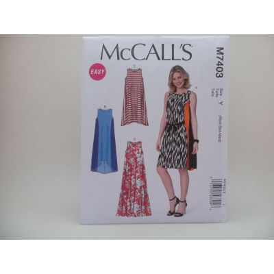 Remnant - Mccalls Pattern - 7403 - size Y- size Xsm-Sml-Med  -  End of Line