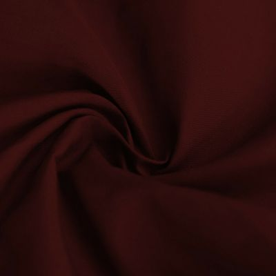 Plain Polycotton Burgundy