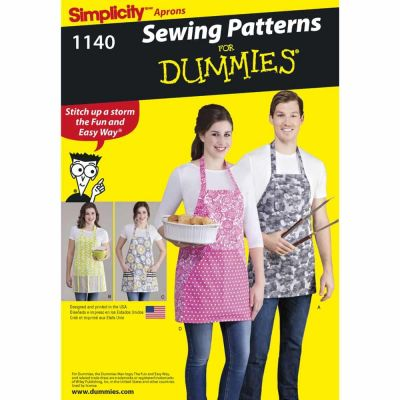 Simplicity Sewing Pattern 1140 Aprons in Four Styles
