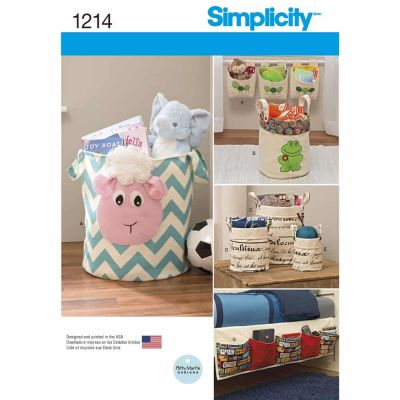 Simplicity Sewing Pattern 1214 Organizers