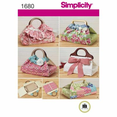 Simplicity Sewing Pattern 1680 Casserole and Dish Carriers