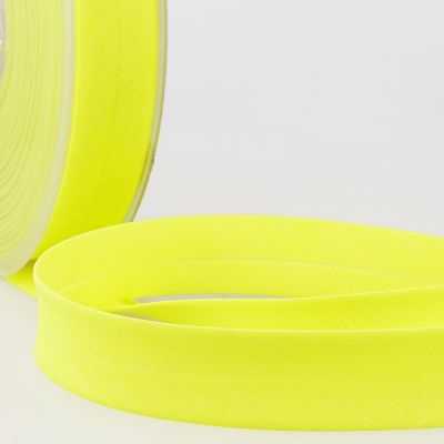 Stephanoise Fluorescent Bias Binding - 20mm Wide - Neon Yellow