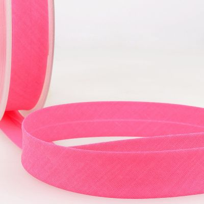 Stephanoise Fluorescent Bias Binding - 20mm Wide - Neon Pink