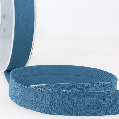 Stephanoise Plain Cotton Jersey Bias Binding - 20mm Wide - Lavender Blue