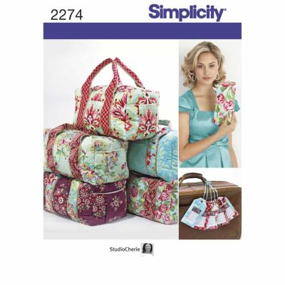 Simplicity Sewing Pattern 2274 Bags