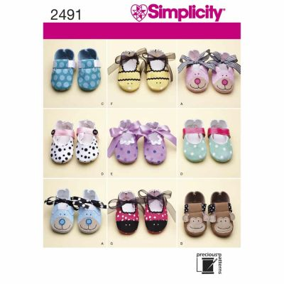 Simplicity Sewing Pattern 2491 Crafts