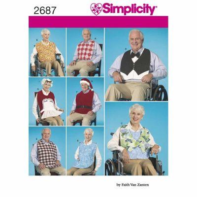 Simplicity Sewing Pattern 2687 Crafts