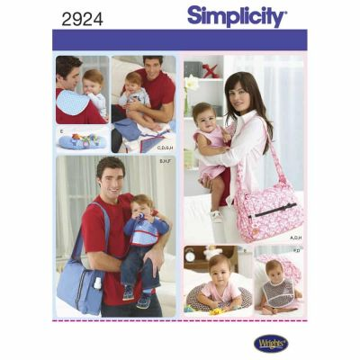Simplicity Sewing Pattern 2924 Accessories