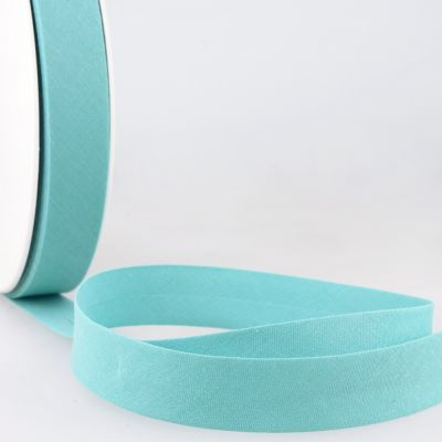 Stephanoise Plain Bias Binding - 50mm Wide - Turquoise