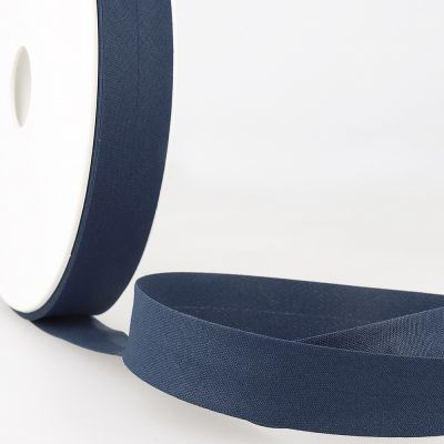 Stephanoise Plain Bias Binding - 50mm Wide - Windsor Blue