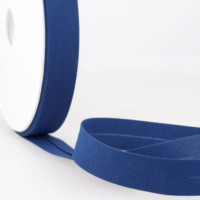 Stephanoise Plain Bias Binding - 50mm Wide - Royal Blue