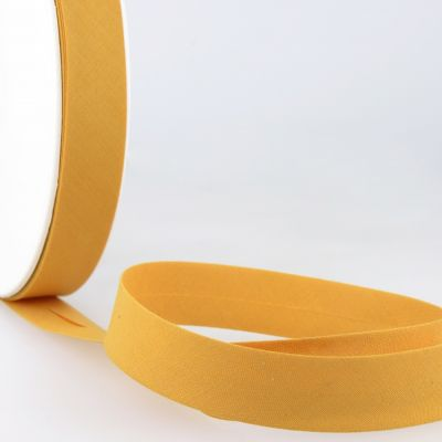 Stephanoise Plain Bias Binding - 50mm Wide - Mustard