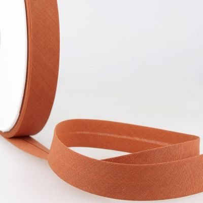 Stephanoise Plain Bias Binding - 50mm Wide - Rust