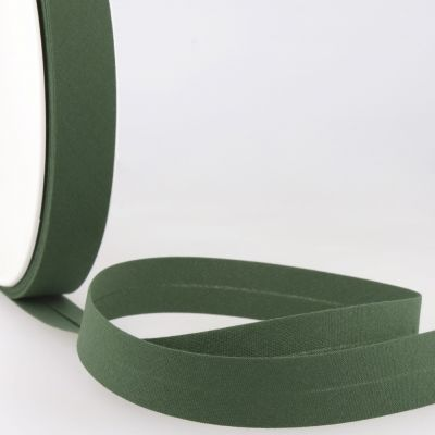Stephanoise Plain Bias Binding - 50mm Wide - Bottle Green