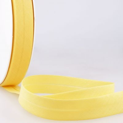 Stephanoise Plain Bias Binding - 20mm Wide - Yellow