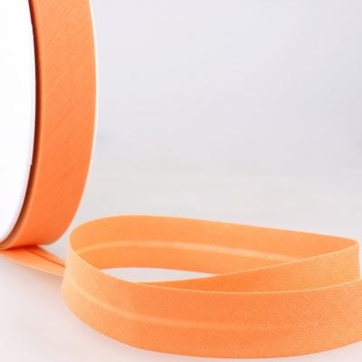 Stephanoise Plain Bias Binding - 20mm Wide - Nectarine