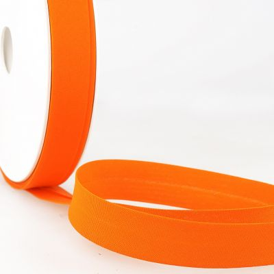 Stephanoise Plain Bias Binding - 20mm Wide - Orange
