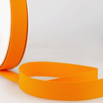 Stephanoise Plain Bias Binding - 20mm Wide - Light Orange