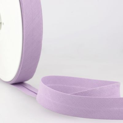 Stephanoise Plain Bias Binding - 20mm Wide - Lavender