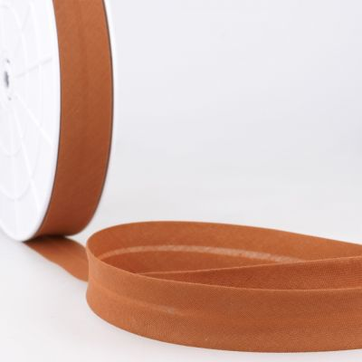 Stephanoise Plain Bias Binding - 20mm Wide - Dark Ochre