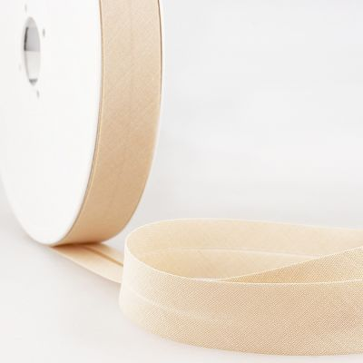 Stephanoise Plain Bias Binding - 20mm Wide - Natural