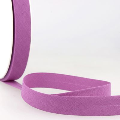 Stephanoise Plain Bias Binding - 27mm Wide - Violet