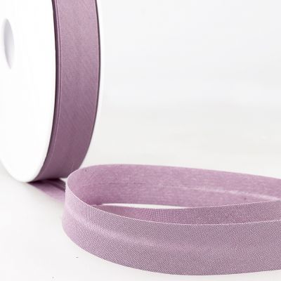 Stephanoise Plain Bias Binding - 27mm Wide - Mauve