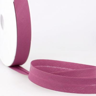 Stephanoise Plain Bias Binding - 20mm Wide - Plum