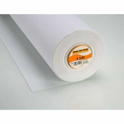 Vlieseline / Vilene Iron-on Pelmet Interfacing S520 - White - 30cm