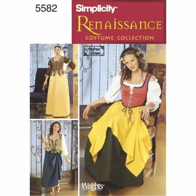 Simplicity Sewing Pattern 5582 Misses Costumes