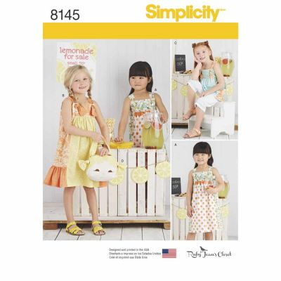 Simplicity Sewing Pattern 8145 Simplicity Pattern 8145 Child's Pattern from Ruby Jean's Closet