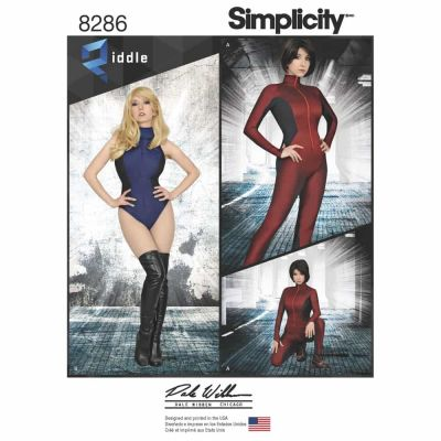 Simplicity Sewing Pattern 8286 Simplicity Pattern 8286 Misses' Knit and Woven Jumpsuit and Leotard