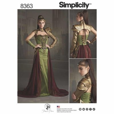 Simplicity Sewing Pattern 8363 Simplicity Pattern 8363 Misses' Fantasy Ranger Costume