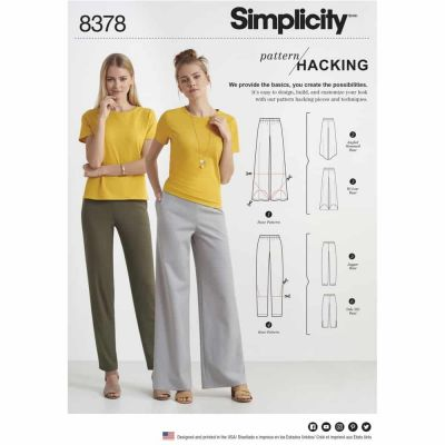 Simplicity Sewing Pattern 8378 Simplicity Pattern 8378 Women