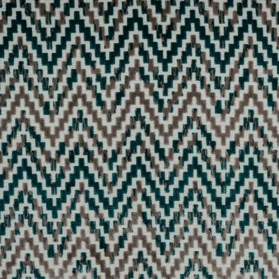 Porter & Stone - San Remo - Teal - Curtain Fabric