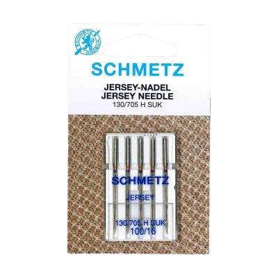 Schmetz Ball Point Jersey Machine Needles Size 100/16 5 Piece Card