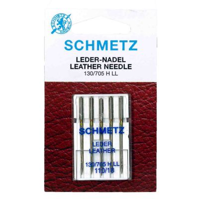 Schmetz Leather Machine Needles Size 110/18 5 Piece Card