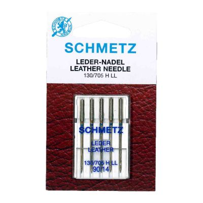 Schmetz Leather Machine Needles Size 90/14 5 Piece Card