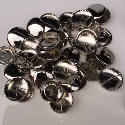 38mm Self Cover Round Metal Buttons