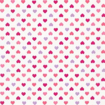Sevenberry - Petite Classics - Pink Hearts On White