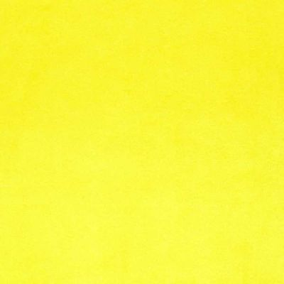 Remnant -Shannon- Smooth Cuddle 3 Plush Fabric - Canary Yellow - 80 x 150cm - Bolt End
